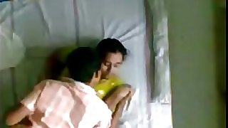Indian Kerala aunty and hubbies younger brother hidden camera