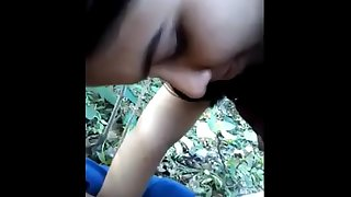 Indian Couple Village Desi Girl Sex Sucking Dick Outdoor